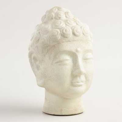 Medium Paper Mache Buddha Head - World Market/Cost Plus