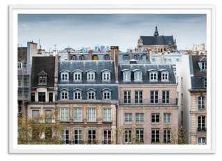 "Traditional Paris, Oversize - 50"" x 36"" - White frame - One Kings Lane"