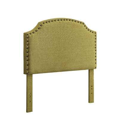 Celestia Upholstered Headboard - Lemongrass  - Twin - Wayfair