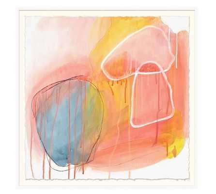 "Sunset Mood -42 X 42""-Framed Print - Pottery Barn"