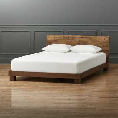 Dondra Queen Bed - Domino
