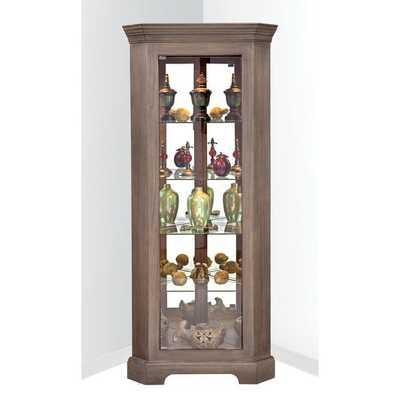 Philip Reinisch Co. Lighthouse Newport I Corner Cupboard Cabinet - Overstock