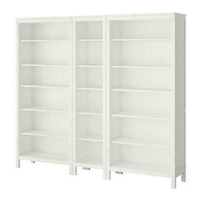 HEMNES Bookcase, white - Ikea
