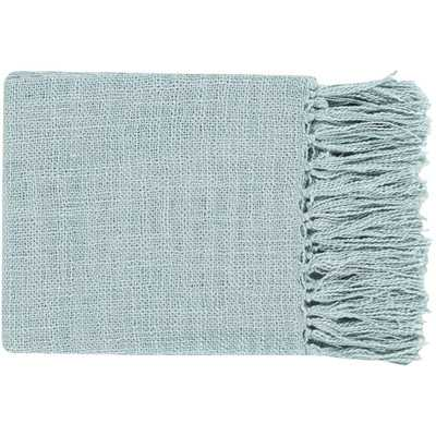Tilda Throw Blanket - Blue - Wayfair