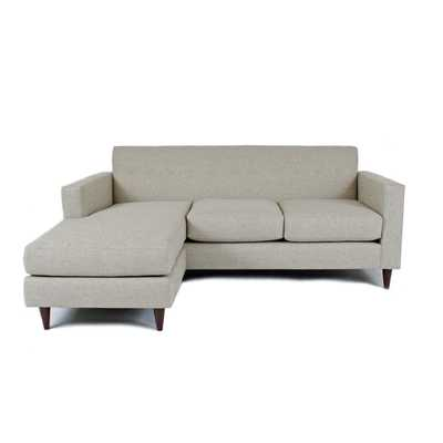 Poyar Sectional  - Light Grey - Wayfair
