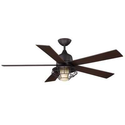 "Hyannis 52"" Damp Location Ceiling Fan - Wayfair"