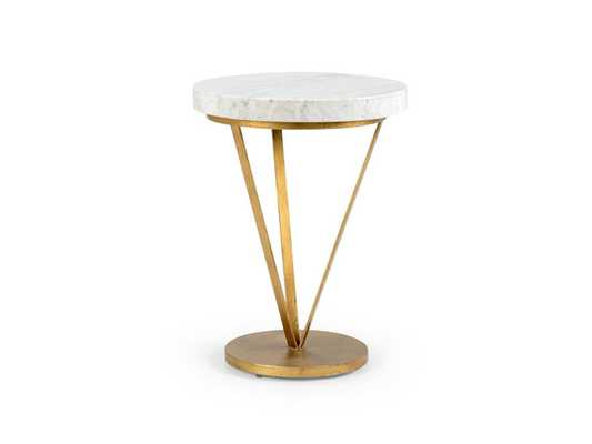CARLYLE SIDE TABLE - Curated Kravet
