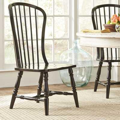 Abbott Side Chair - Black - Birch Lane