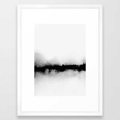 "L1 - 20"" x 26"" - Vector White Frame - Society6"
