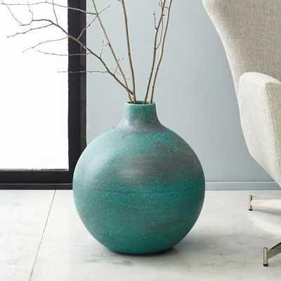 Rustic Ceramic Extra Large Vase - West Elm
