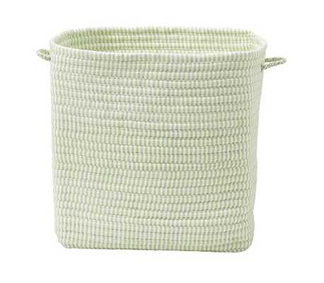 "TICKING FABRIC BASKET 20"" - Limelight - Home Decorators"