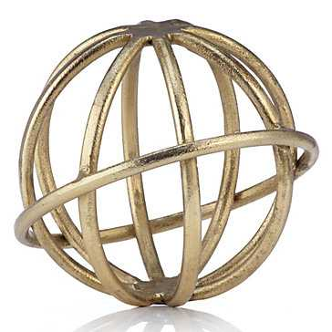 "Gyration Sphere - 9"" Diameter - Z Gallerie"