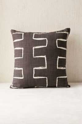 """Locust Malki Pillow - 18"""" x 18"""" - insert included - Urban Outfitters"""