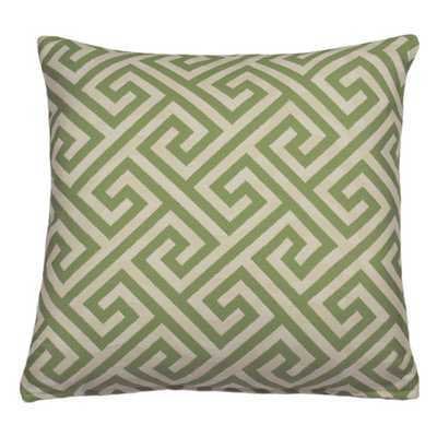 "Key Indoor/Outdoor Throw Pillow - 18"" H x 18"" W - Polyester/Polyfill - AllModern"