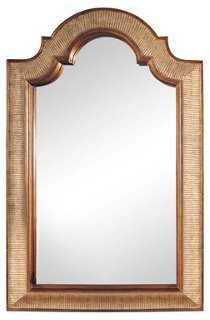 Arch-Shape Mirror, Gold - One Kings Lane