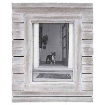 "5""x7"" Frame White Wash - Thresholdâ""¢ - Target"