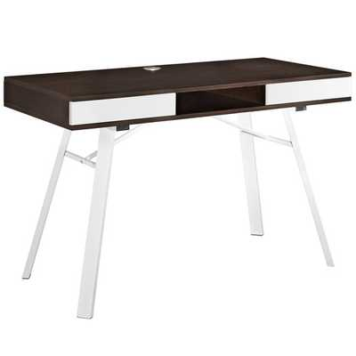 Stir Writing Desk - Cherry - AllModern