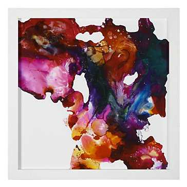 """At Creation - 30""""x30"""" - Framed ( Matte white ) - Z Gallerie"""