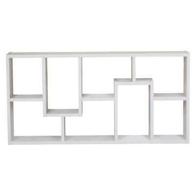 Furniture of America Highpoint Contoured Bookcase - White - Target