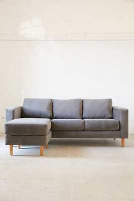 Quincy Chaise Sectional Sofa - Grey - Urban Outfitters