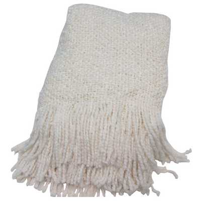 Campbell Woven Throw Blanket - AllModern