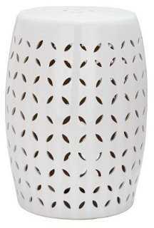 Malia Ceramic Garden Stool - One Kings Lane
