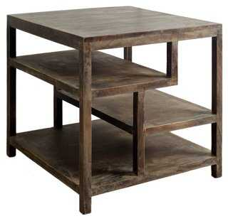"""Wright II 22"""" Side Table, Natural - One Kings Lane"""