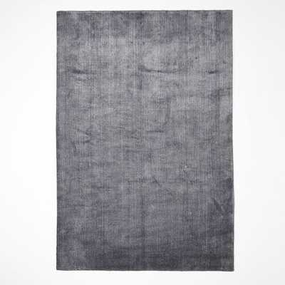 Hand-Loomed Shine Rug - Slate - West Elm