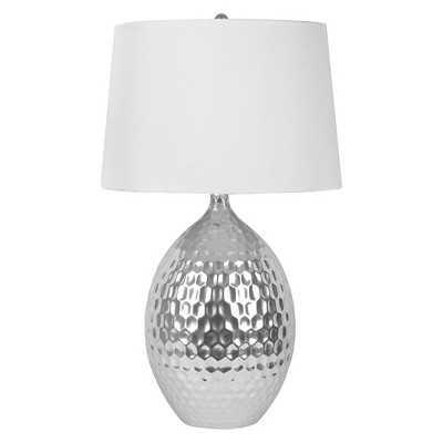 J. Hunt Silver Ceramic Table Lamp - Target