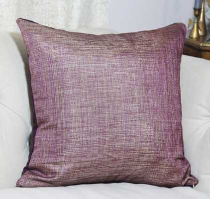 """Purple Pillow Cover - 20""""x 20""""- Insert Sold Separately - Etsy"""