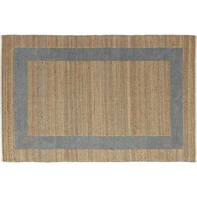 double text grey rug - CB2