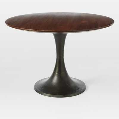 Cast Pedestal Dining Table - West Elm