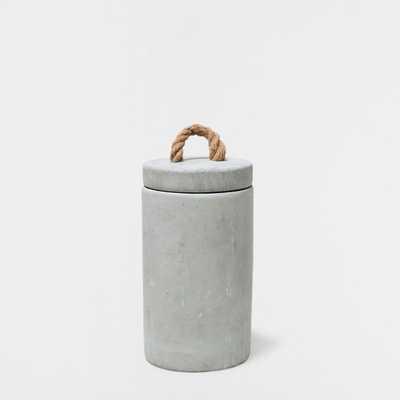 GRAY DECORATIVE JAR - Zara Home