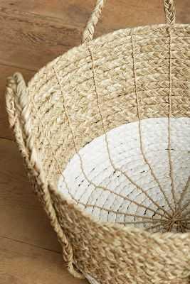 Balinese Tassel Basket - Round - Anthropologie