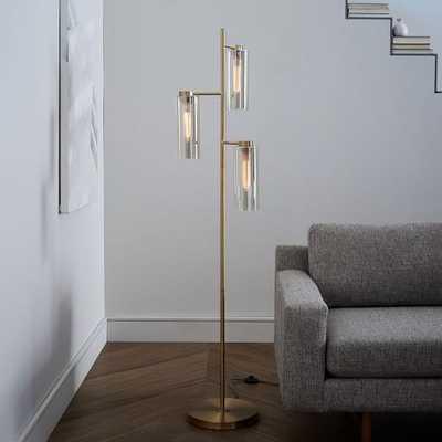 Glass Cylinder Floor Lamp - West Elm