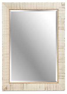 Wooden Mirror - 37x47 - One Kings Lane