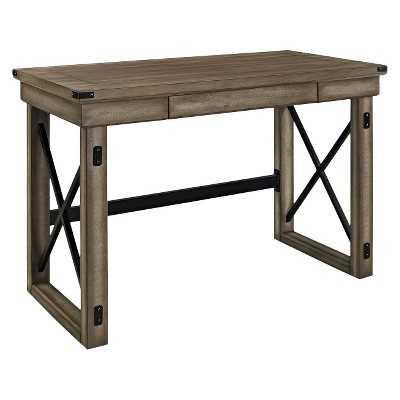 Ameriwood Writing Desk Brown - Target