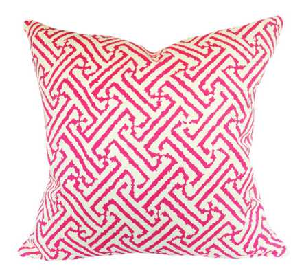 """Quadrille Geometric Java  Pillow Cover - 18''x 18"""" - Insert not included - Etsy"""