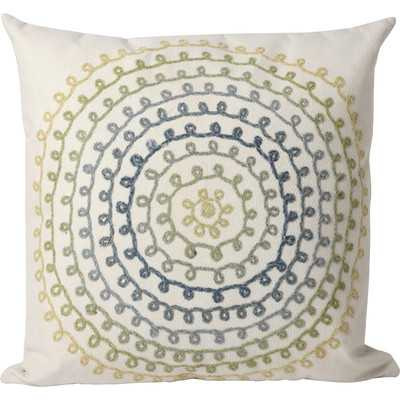 "Ombre Threads Indoor/Outdoor Throw Pillow - Cool - 20"" x 20"" - Polyester insert - Wayfair"
