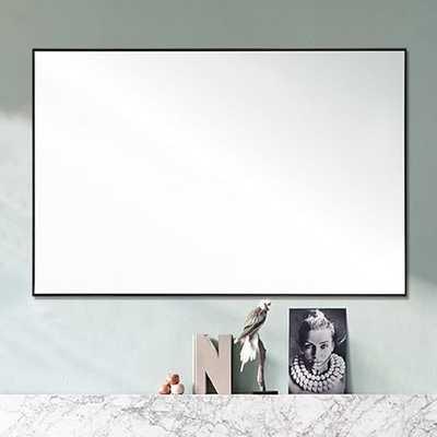 Gray-Framed Wall Mirror - West Elm