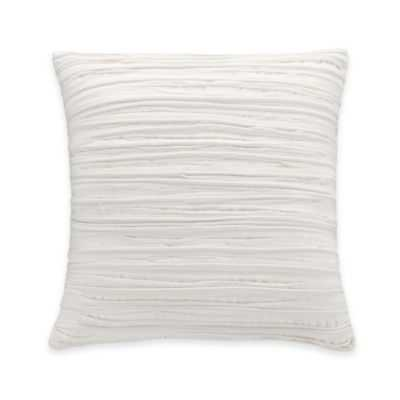 Coastal Life Luxe Coral Ruched Throw Pillow - 16x16, With Insert - Bed Bath & Beyond