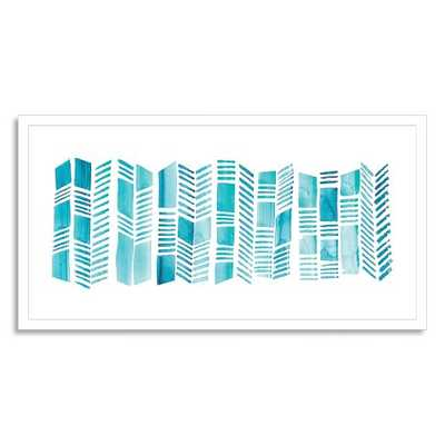 "Minted for west elm - Stack - 34"" x 18"" - Framed - West Elm"