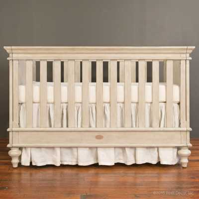 Hampton crib driftwood - Bratt Decor