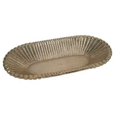 """Nate Berkusâ""""¢ Small Sandcasted Tray - Gold - Target"""