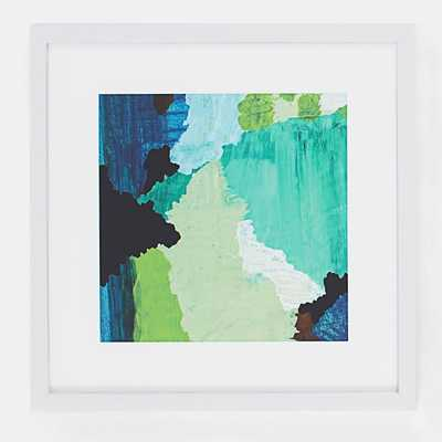 "Minted for west elm - Nishna I - 20"" sq - Framed - West Elm"