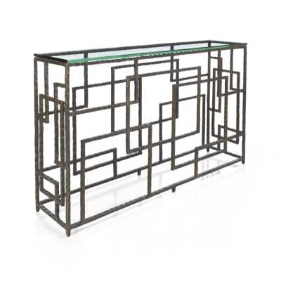 Treillis Console Table - Crate and Barrel