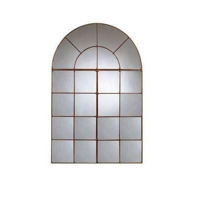 Bassett Mirror Company Bronze Half Moon Metal Mirror - Bellacor