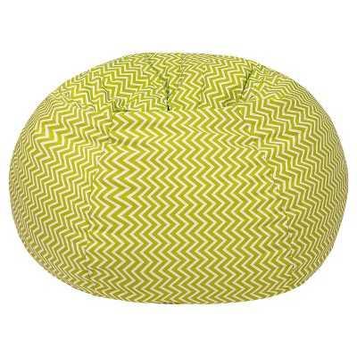 Cosmo ZigZag Print Bean Bag Chartreuse - Target