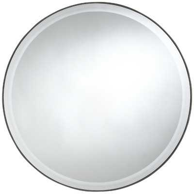 Seymour Round Mirror - Wayfair