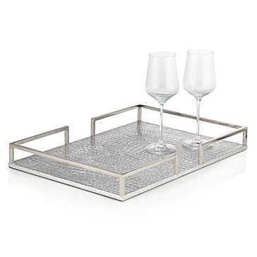 Everglades Metal Tray - Z Gallerie